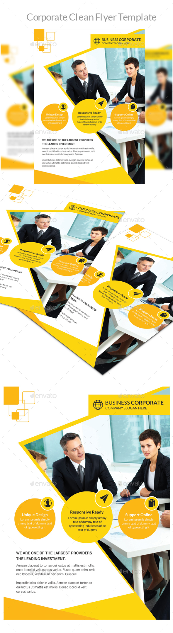 Corporate Clean Flyer - Corporate Flyers
