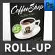 modern Coffee Shop Roll-up Templates - GraphicRiver Item for Sale