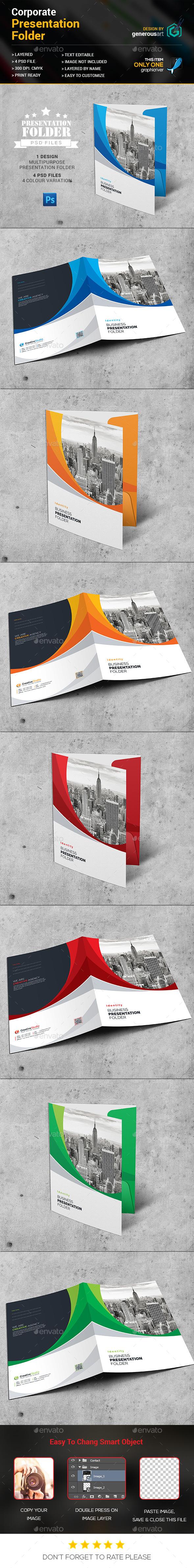 Creative Folder - Stationery Print Templates
