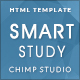SmartStudy – Responsive Education HTML Template - ThemeForest Item for Sale