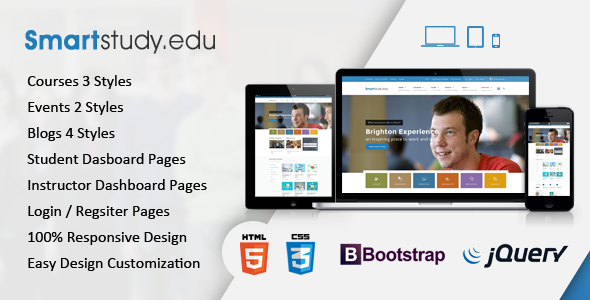 SmartStudy – Responsive Education HTML Template nulled