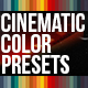 Cinematic Color Presets