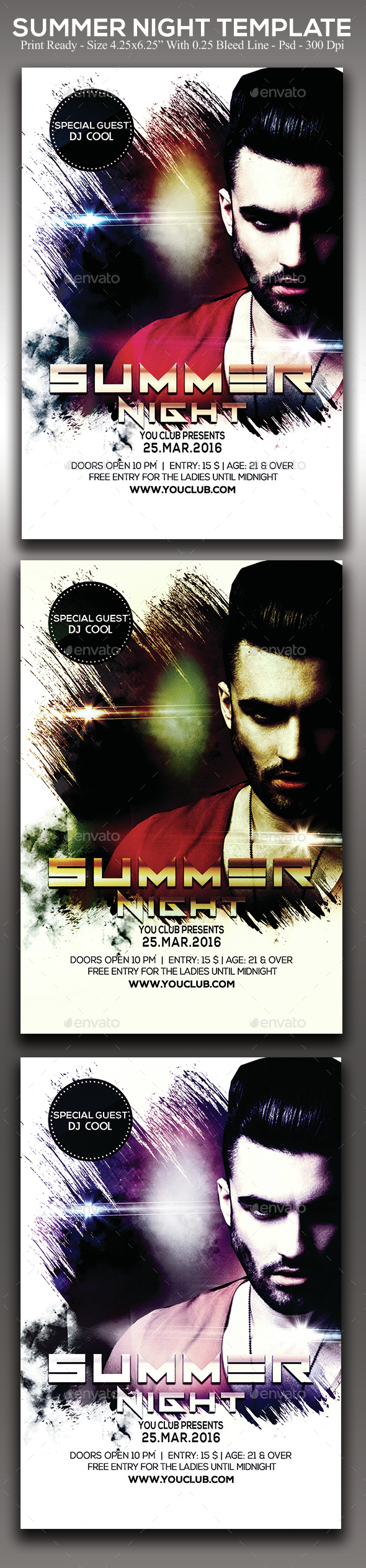 Summer Night - Clubs & Parties Events