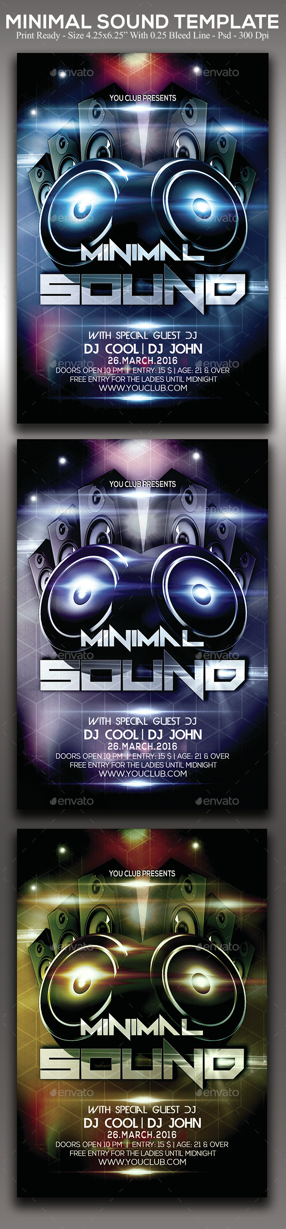 Minimal Sound - Clubs & Parties Events