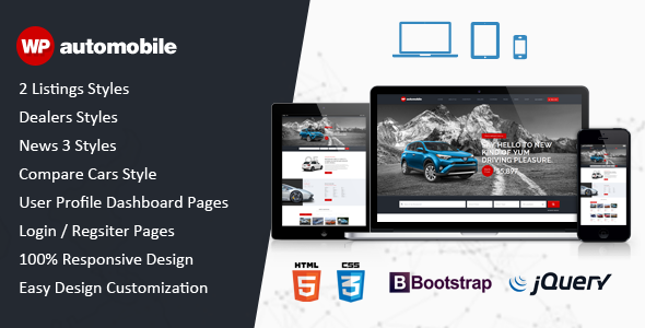 AutoMobile | Responsive Car Dealer HTML Template - Business Corporate