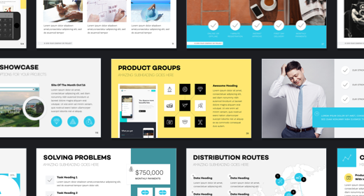 the best business and corporate presentation templates in 2017 on, Powerpoint templates