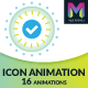 Icon Animation Widget by Muse For You - CodeCanyon Item for Sale