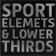 Sport Lower Thirds and Elements - VideoHive Item for Sale