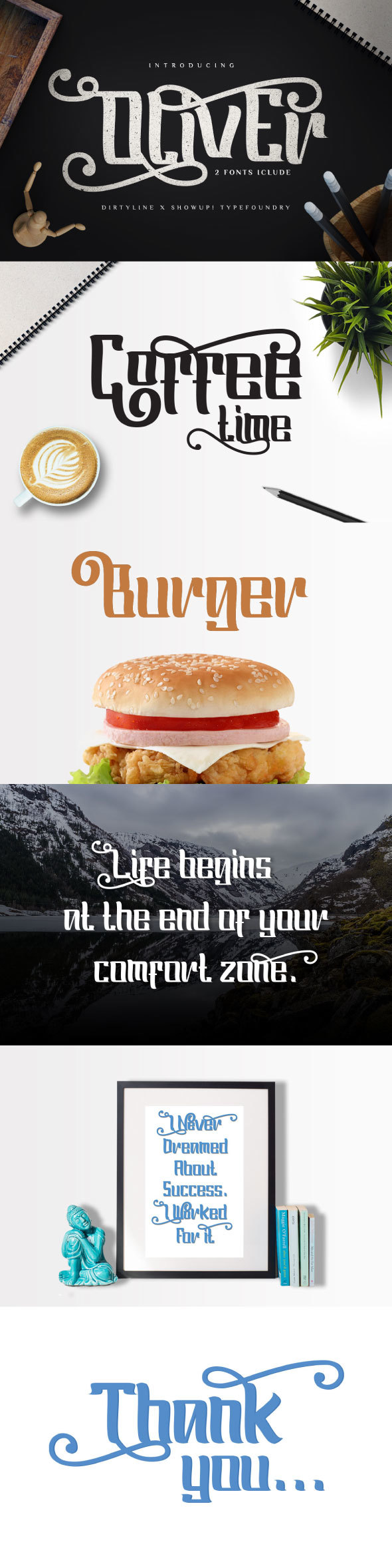 Oliver Typeface - Sans-Serif Fonts