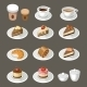 Set of Sweets and Coffee - GraphicRiver Item for Sale