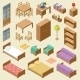 Isometric Furniture Set - GraphicRiver Item for Sale