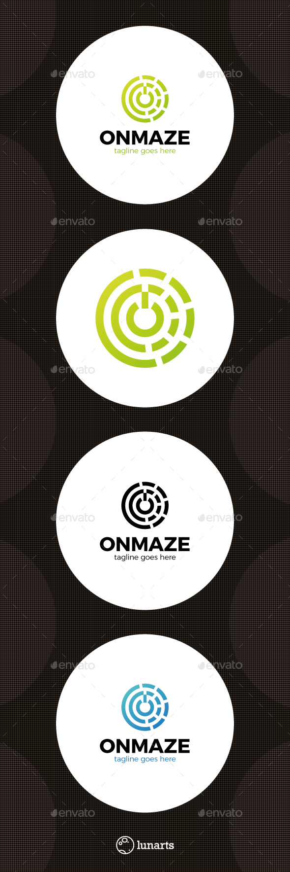 Circle Data Center Logo - Abstract Logo Templates