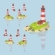 Low Poly Lighthouse - GraphicRiver Item for Sale