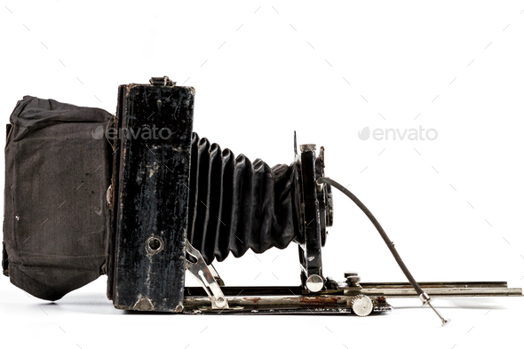 Old Camera Side - Stock Photo - Images