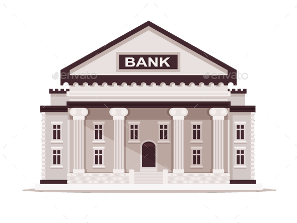 Bank Building - Buildings Objects
