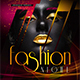 Fashion Night Flyer Template - GraphicRiver Item for Sale