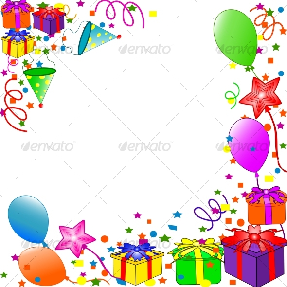 Happy Birthday background - Birthdays Seasons/Holidays