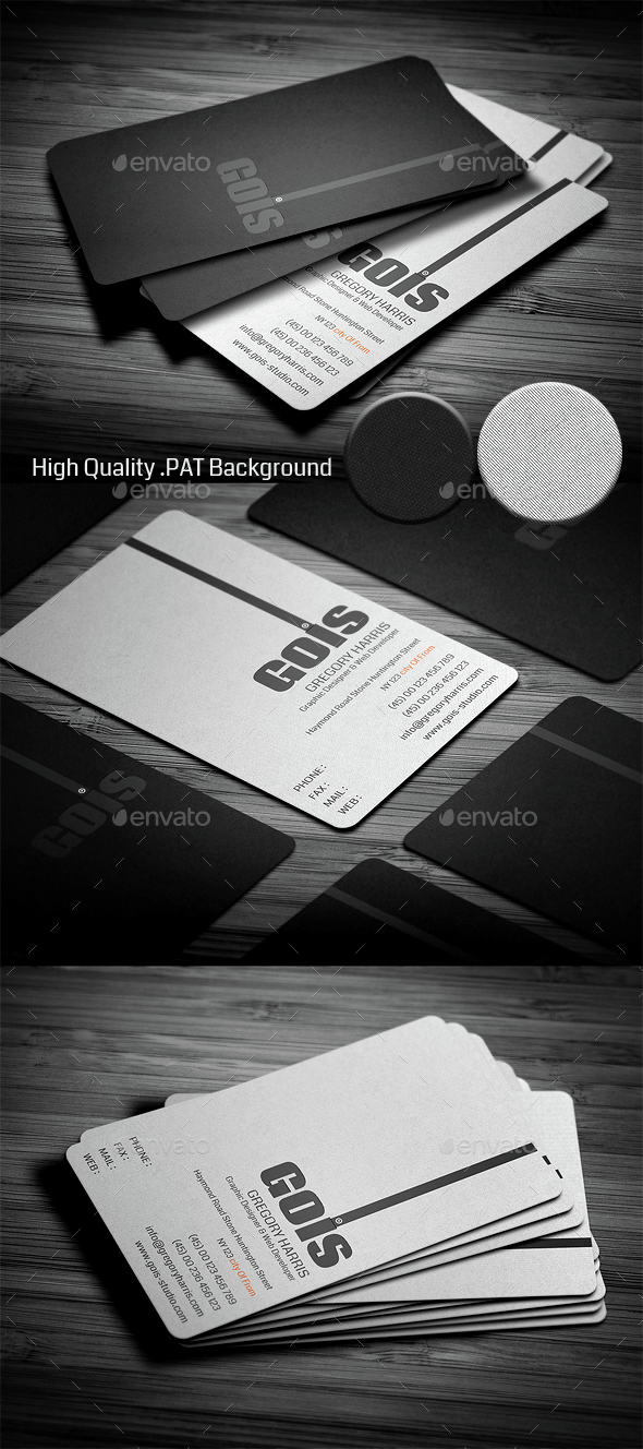 Gois Corporate Business Card - Corporate Business Cards