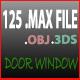 125 Door &  locker & window - 3DOcean Item for Sale