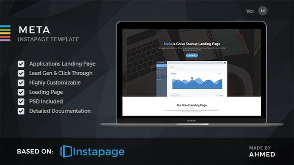 Meta startup - Instapage Landing Page - Instapage Marketing
