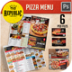 Restaurant Pizza Menu 2 - GraphicRiver Item for Sale