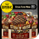 Steak Food Menu Flyer - GraphicRiver Item for Sale
