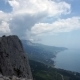 Clouds Between The Mountains And The Sea - VideoHive Item for Sale