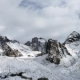 Panoramic View Of The Winter Mountains. Kyrgyzstan.Ala-Archa.  - VideoHive Item for Sale