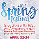 Spring Festival Poster - GraphicRiver Item for Sale
