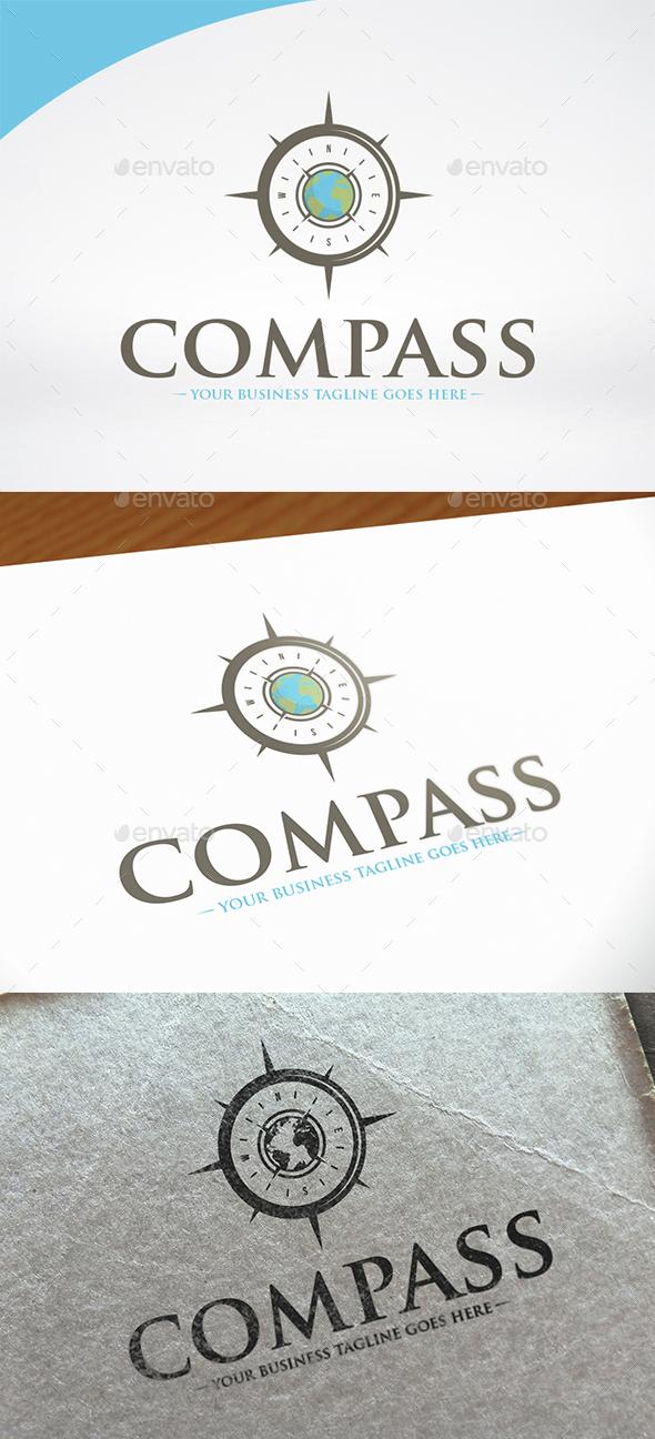 World Compass Logo Template - Symbols Logo Templates