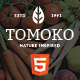 Organic Food/Fruit/Vegetables Responsive Web Store Template - Tomoko