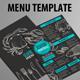 Seafood Menu Restaurant  - GraphicRiver Item for Sale