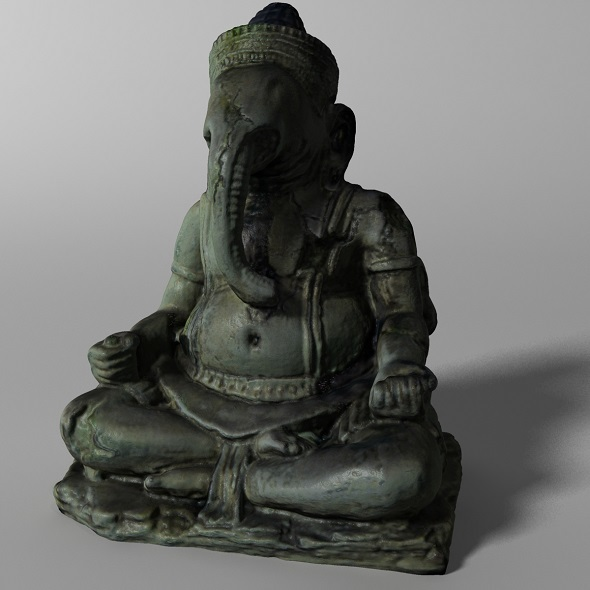 Hindu Statue - Ganesha - 3DOcean Item for Sale