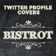 Twitter Profile Cover - Bistrot - GraphicRiver Item for Sale