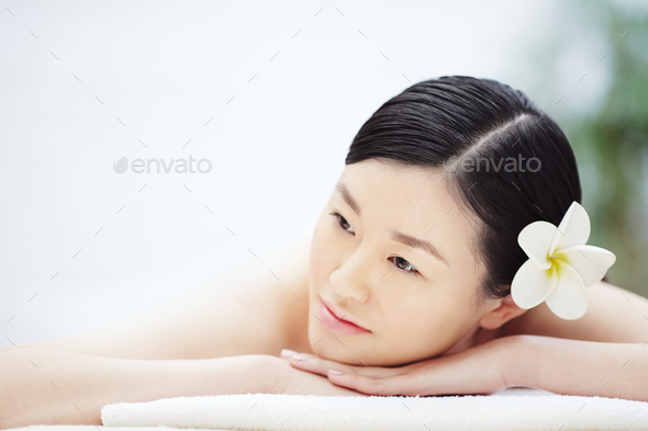 Spa woman - Stock Photo - Images