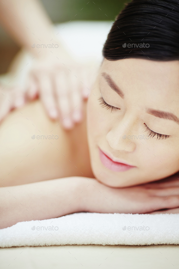 Procedure of massage - Stock Photo - Images