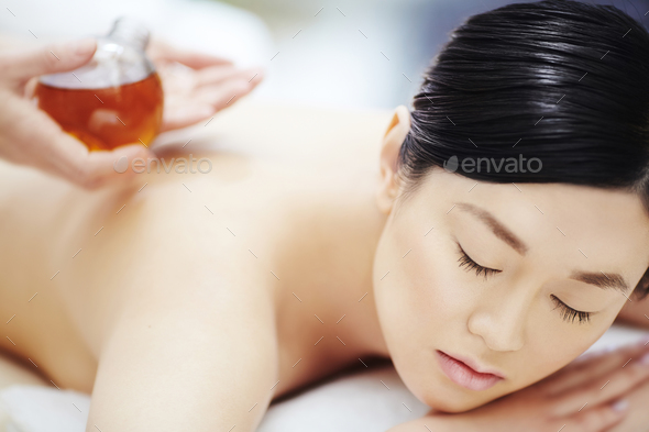 Spa massage - Stock Photo - Images
