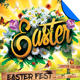 Easter Event Flyer Template - GraphicRiver Item for Sale