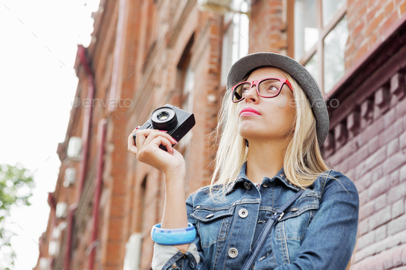 Sightseeing in new city - Stock Photo - Images