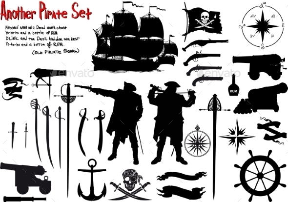 Pirate Set - Decorative Symbols Decorative