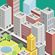 Isometric Modern City - GraphicRiver Item for Sale