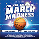 March Madness College Basketball Promo Flyer - GraphicRiver Item for Sale
