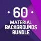 60 Material Design Backgrounds Bundle - GraphicRiver Item for Sale