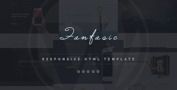Fantasic – Multipurpose Landing Page Template