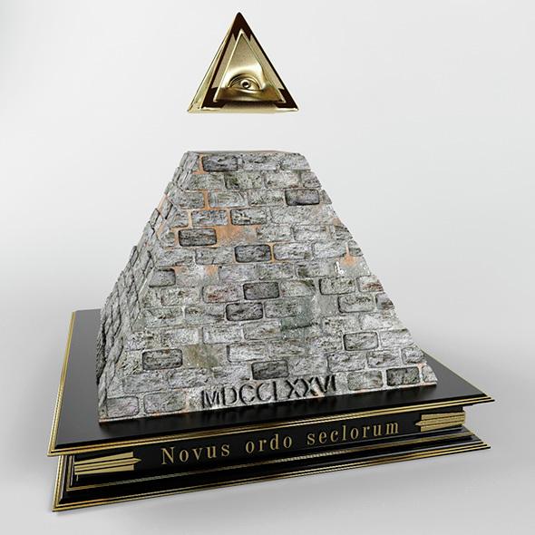 Illuminati Pyramid By Lance Lott 3docean