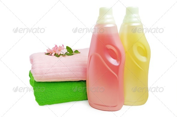 Rinser and towels - Stock Photo - Images