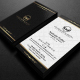 Gold And Black Business Card 3 - GraphicRiver Item for Sale