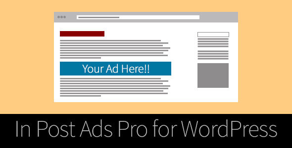 In Post Ads Pro for WordPress - CodeCanyon Item for Sale