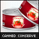 Canned Conserve Mock-up - GraphicRiver Item for Sale