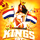 King's Day / KoningsDag v2 Party Flyer Template - GraphicRiver Item for Sale